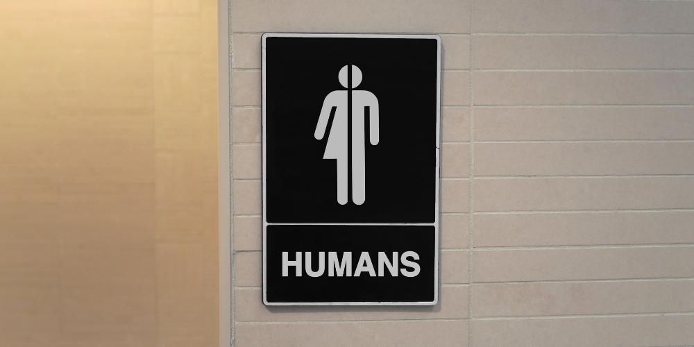 genderneutrales Toilettenzeichen